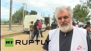 Хиляди влизат в Македония от Идомени