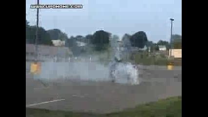 Burnout Honda Cbr600f4i