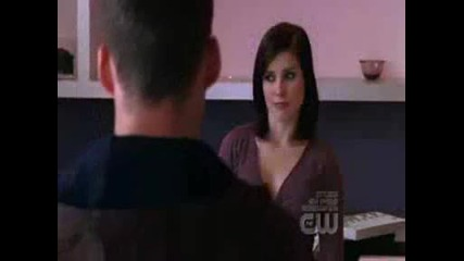 Brooke Davis dancing in Clothes Over Bros Shop