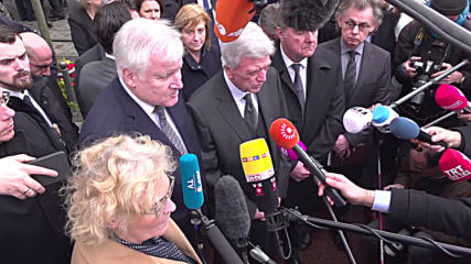 Germany: 'Racism is a poison' says Seehofer on visit to scene of Hanau shooting