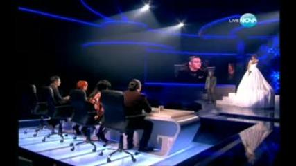 Стела изпълни песента на Beatles - Let It Be X Factor Mb7.org