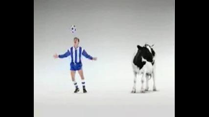 C.Ronaldo Vs Cow Funny