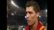 Cristiano Ronaldo Interview After Beating Rome 01.04.08
