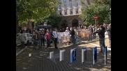 Провали се шествие на протестиращи срещу високите цени на тока и парното