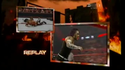 Edge vs Jeff Hardy vs Triple H - Wwe Championship - Wwe Armageddon 2008