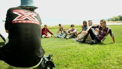 X Factor зад кулисите: Неизлъчвани кадри от Къщата на Саня