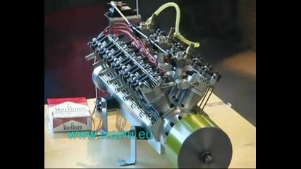 V12 Rc Modellmotor