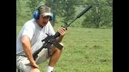 М16, стрелба със заглушител