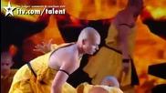 Team Shaolin - Britains Got Talent.