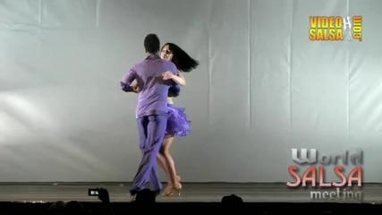 Алфредо Торес и Жоржет Илиева - шампиони на World Salsa Contest Milan 2011