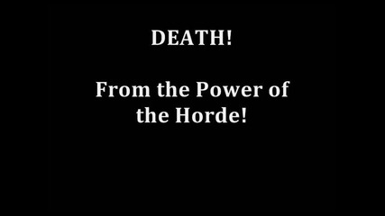 Warcraft 3 Game Music 85 - Storm, Earth and Fire (power of the Horde)