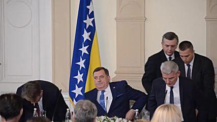 Bosnia and Herzegovina: Three new presidents sworn into office in Sarajevo