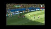 Мондиал 2014 - Бразилия 1:1(3:2 дузпи) Чили - Бразилия мина през ада, но се класира!