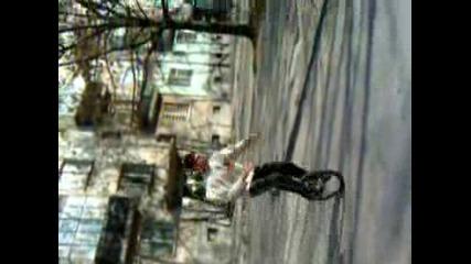 Каране на колело с една гума след Дунамих