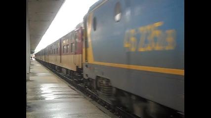 46 235 с Бв 8610 заминава от Пловдив