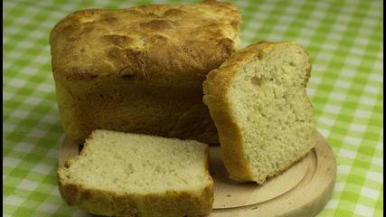 Пухкаво домашно хлебче