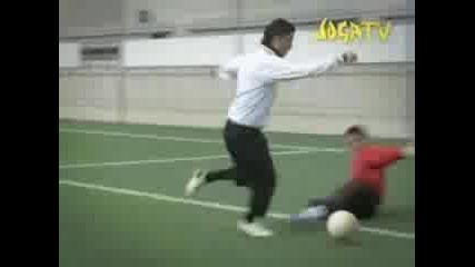 C. Ronaldo vs Златан