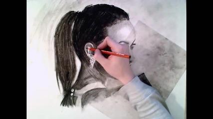 Бърза рисунка на Olivia Wilde