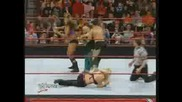Raw - Hornswoggle and Eve vs. Chavo and Jillian