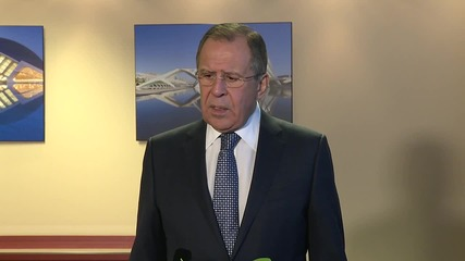 Switzerland: Terrorist organisations can't be included in Syria deal, says Lavrov