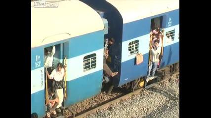 На жп гара в Индия