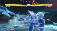 Street Fighter X Tekken Special Moves Super Art Pc Gameplay Hd