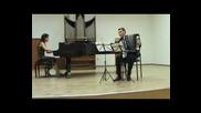 Волпи - Дивертименто №1 за акордеон и пиано - изп. Ангел Чакъров