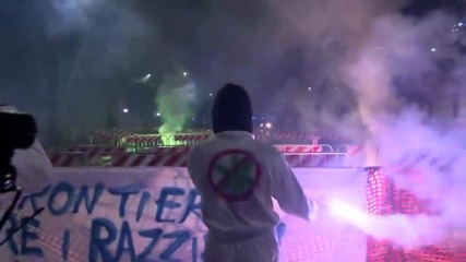 Italy: Protesters march against Milan conference featuring Le Pen and Salvini