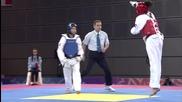 Младежки олимпийски игри 2010 - Таеклондо Жени до 55 кг четвъртфинали