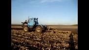 Оран с руски трактори: Т - 150к, Дт - 75, Т - 40ам, Мтз - 82, К - 744
