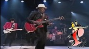 Boogie Chillen- John Lee Hooker with Eric Clapton & The Rolling Stones--1989g