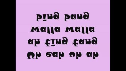 Uh eah uh ah ah ting tang walla walla bing bang Lyrics!