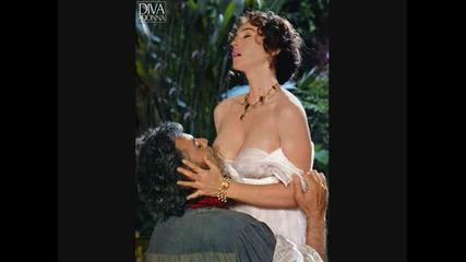 Andrea Bocelli with Monica Bellucci ( Romantic scene, movies )