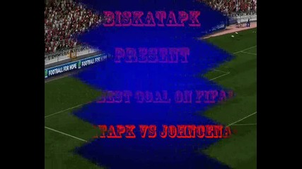johncena22 vs biskatapk - Fifa 11