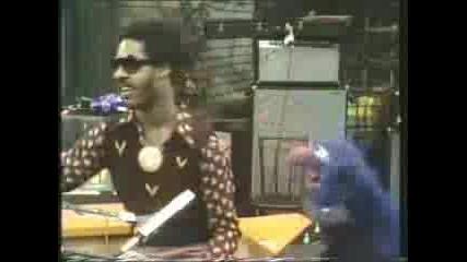 Grover And Stevie Wonder On Sesa