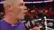John Cena Се Сбогува с Wwe *2010*
