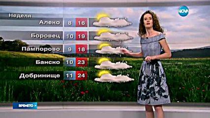 Прогноза за времето (29.05.2016 - сутрешна)
