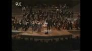 Vanessa Mae plays Toccata & Fugue Live at the Berlin philharmonie