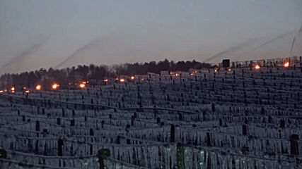 France: Winegrowers use hundreds of heaters to save vines amid sub-zero temperatures