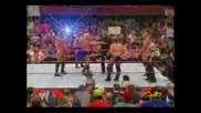Wwe Randy Orton And Raw Roster Vs Flair & Hhh