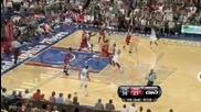 Филаделфия Севънтисиксърс 84:98 Чикаго Булс (20 - 02 - 2010г.)