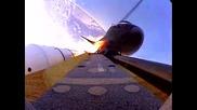 Изглед Към Космоса От Борда На Совалка