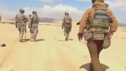 Руските спецназ срещу Ид в Палмира 2017