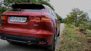 Jaguar F-Pace - форсиране, ускорение