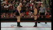 Wwe 12/10/09 Chris Jericho vs Big Show [ Qualifing Brigging Rights Match ]