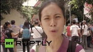 """Philippines: """"US troops out"""" - Protesters in Manila denounce US security agreement"""