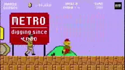 Super Mario Пародия