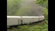 3te 10u - Ето така пушат руските локомотиви