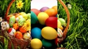 Easter Eggs In The Bascket