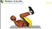 8 минутна тренировка за корем level 2